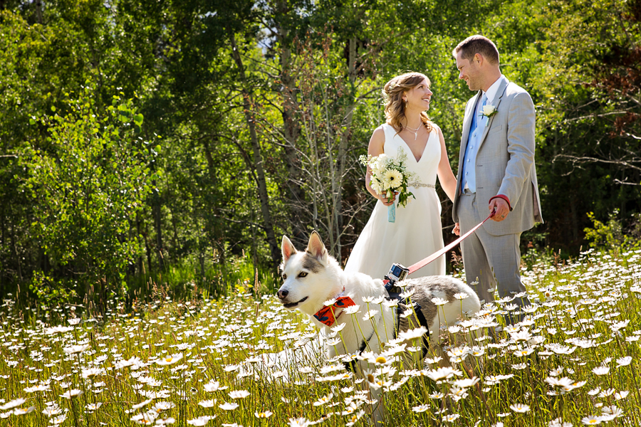 Monika & Peter pet friendly Waterton wedding