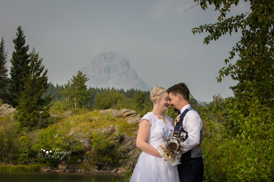 Raylene & Mitchell Crowsnest Pass wedding