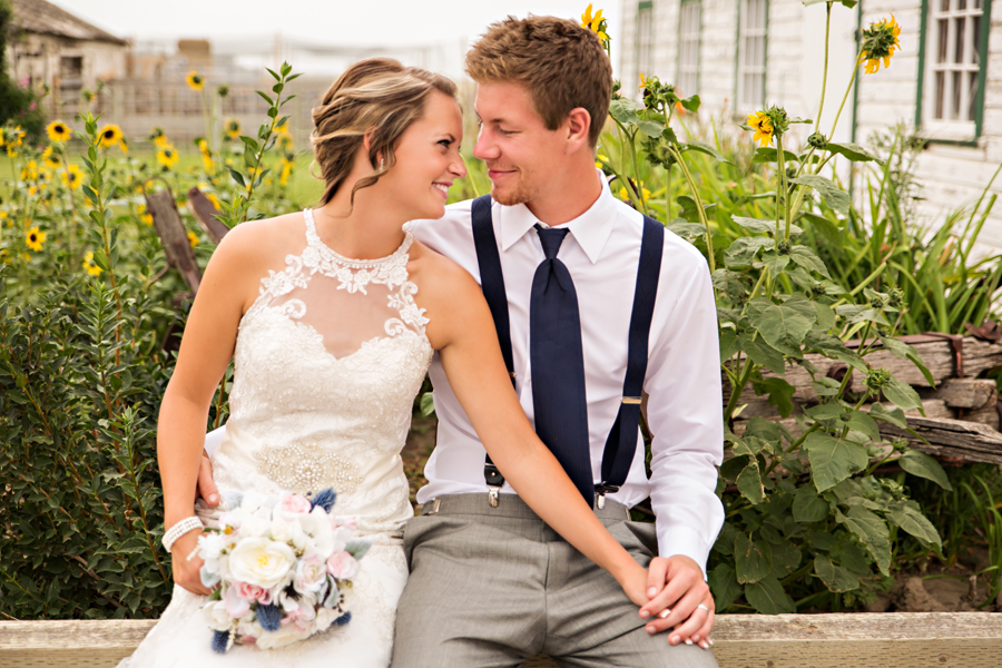 Tara-Lee & Derek Coaldale summer wedding