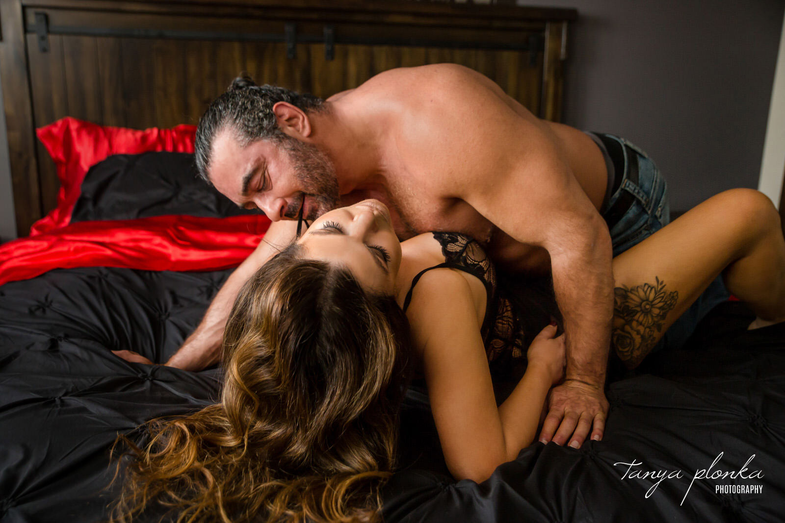 Sensual Couples Boudoir in Lethbridge
