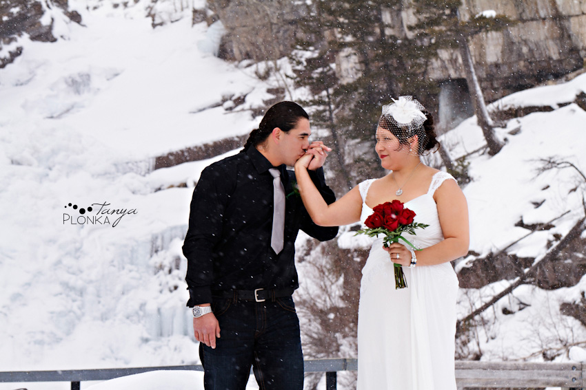 Waterton Winter Wedding