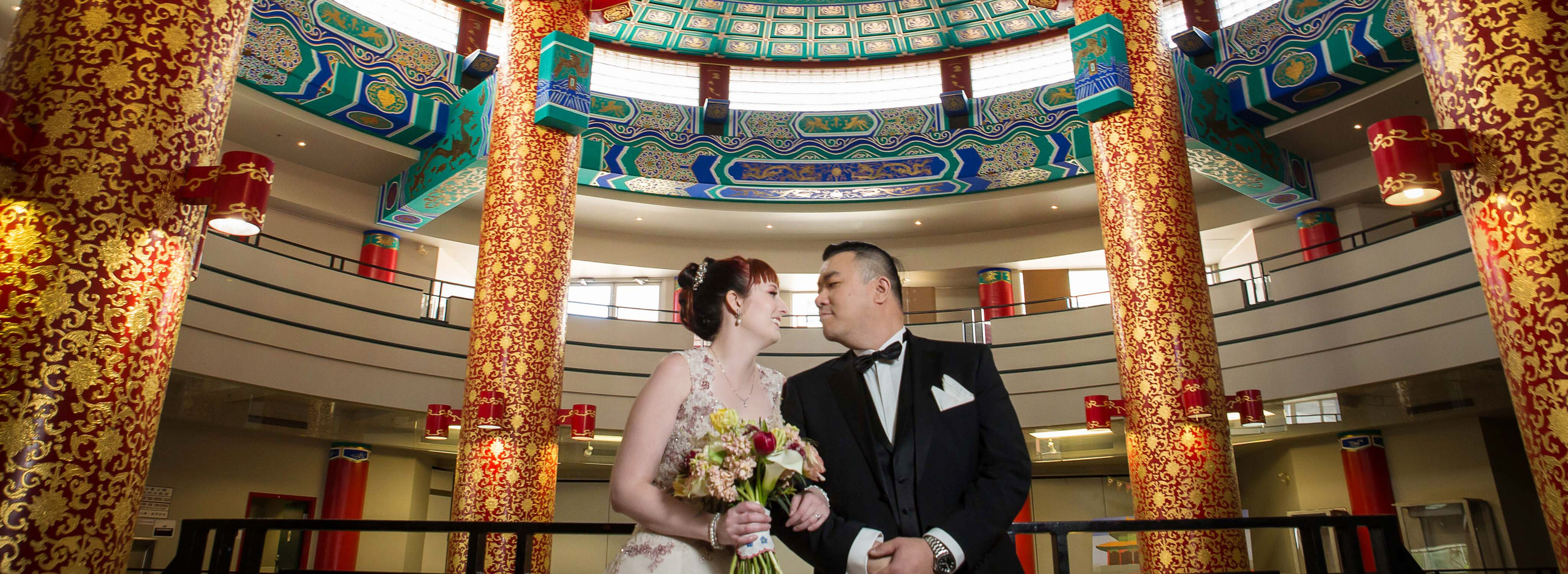 Brittany testimonial, Calgary wedding at Chinese Cultural Centre