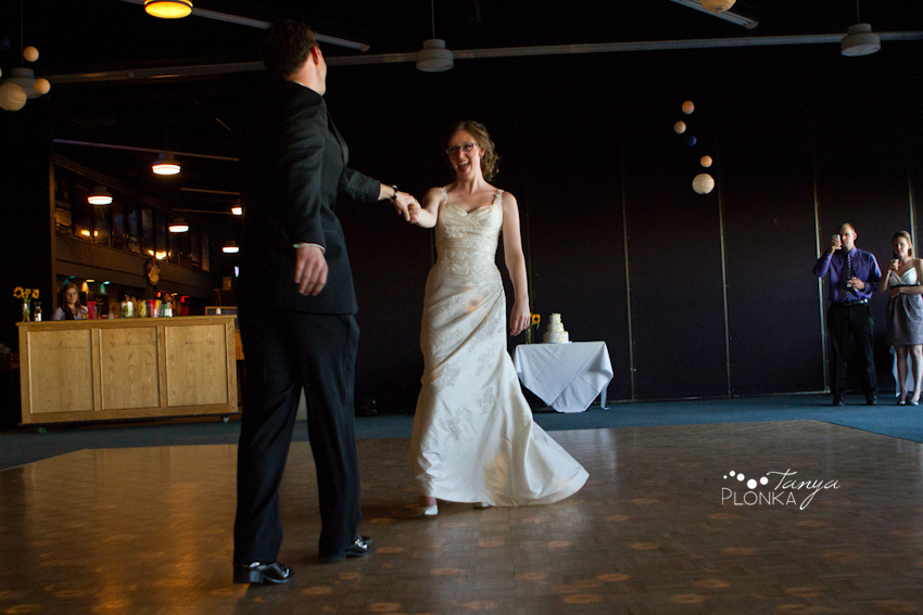 wedding reception at the University of Lethbridge