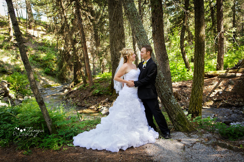 Intimate Crowsnest Mountain Resort Wedding